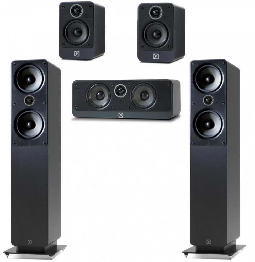 Q Acoustics Q Acoustics 2000 Serie 5.0 Högtalarpaket
