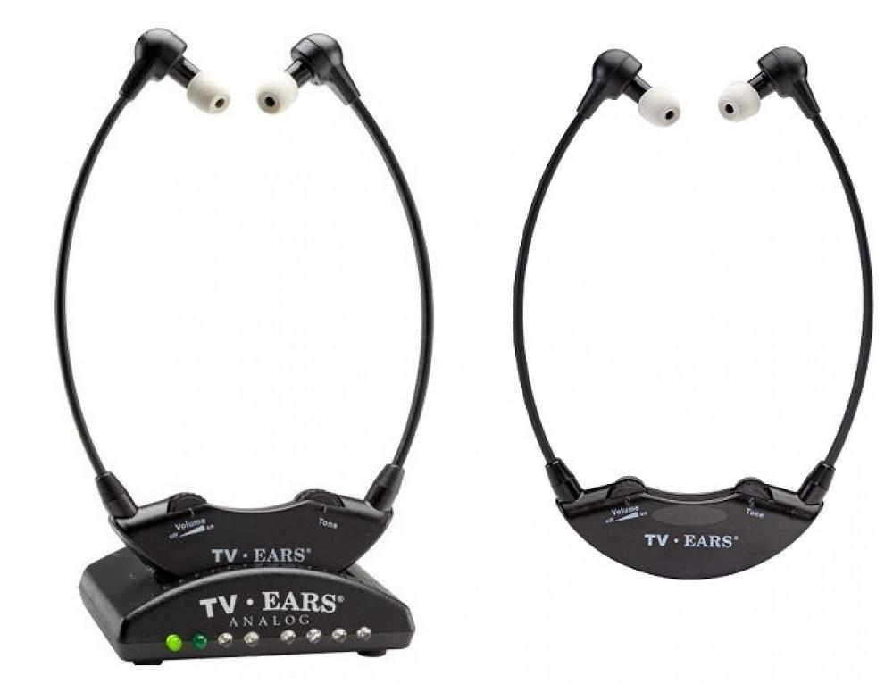Tv-Ears TV-EARS 5.0 2-pack Analog Trådlösa Hörlurar
