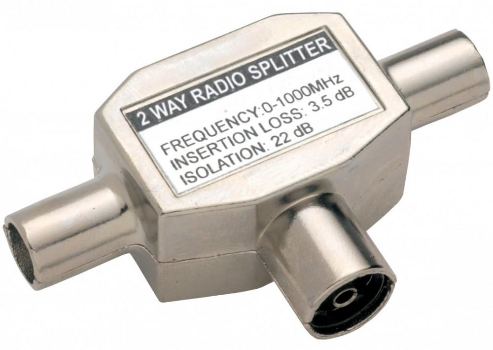 Bandridge BANDRIDGE 2-vägs Antennsplitter