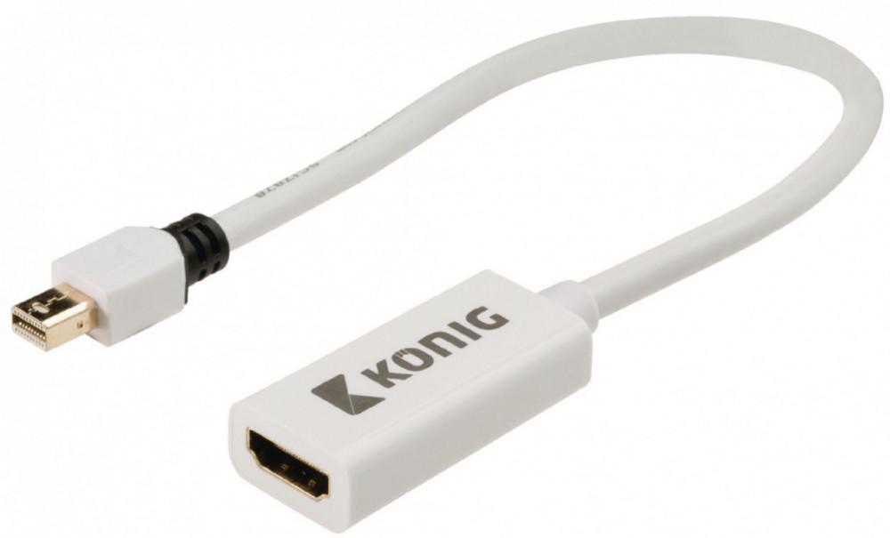 König KÖNIG Mini Display Port - HDMI Adapter