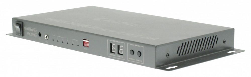 König KÖNIG HDMI-Matris 4in-2ut