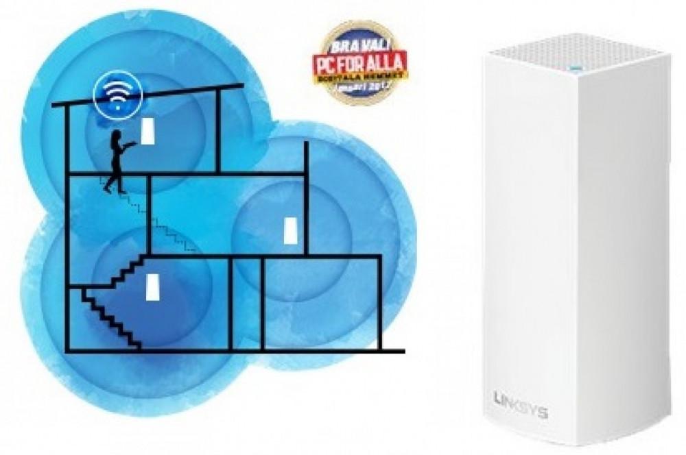 Linksys LINKSYS Velop 1-pack Hela Huset WiFi System