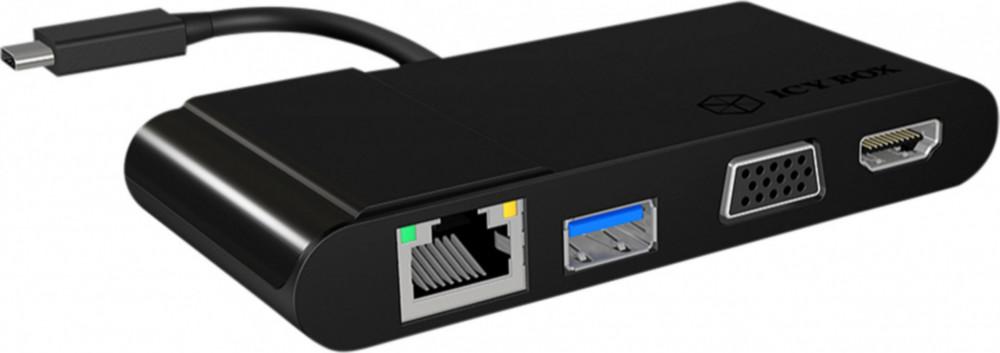 Övriga ICY Box USB-C Multidockningsstation