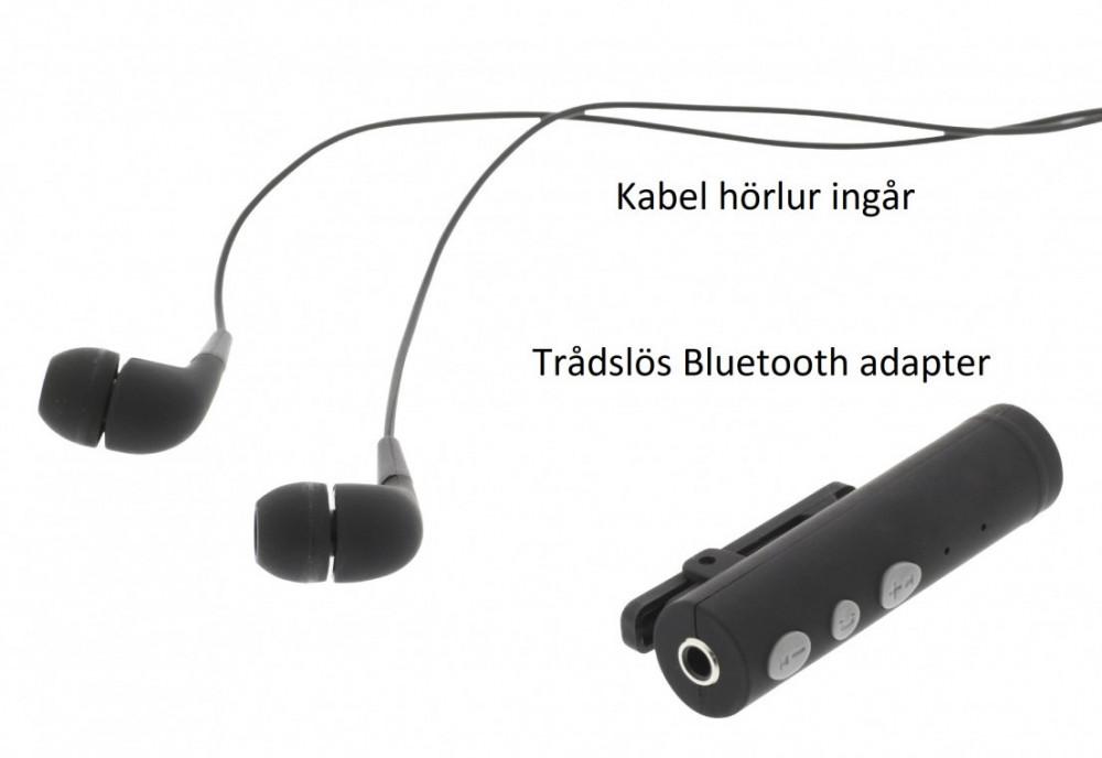 Sweex SWEEX 3.5mm Bluetooth Adapter för Sladdhörlur/mic