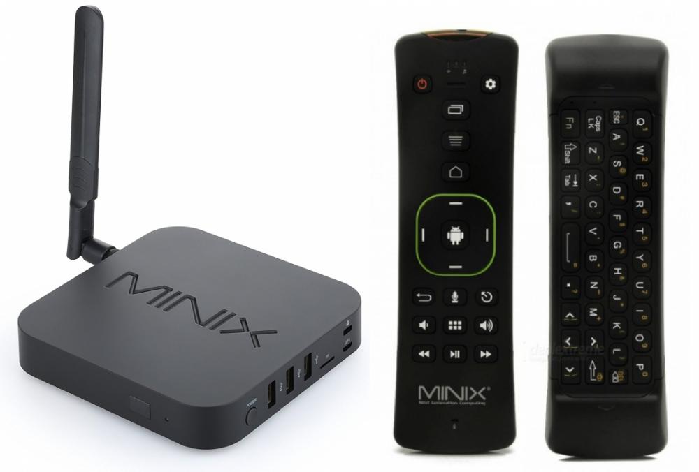 Minix MINIX Neo U9-H 4K inkl A3 Fjärrkontroll