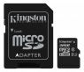 Kingston 32 GB MicroSD+adapter minneskort class 10 Canvas Select