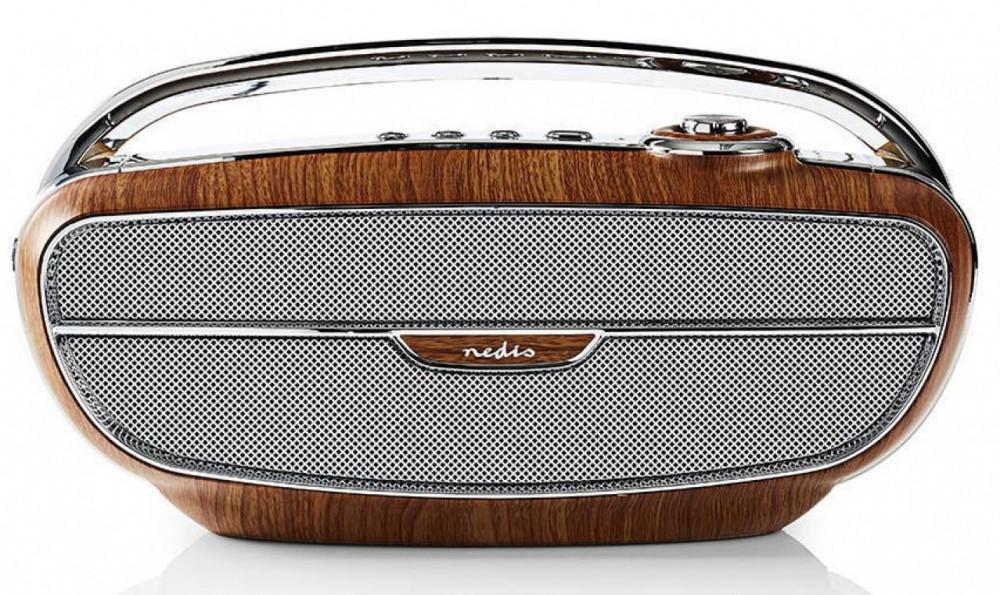 Nedis Retro Radio med Bluetooth RDFM-5300 Brun