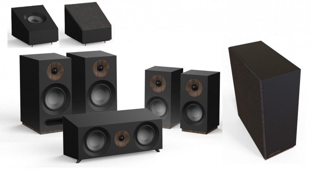 Jamo S 803 HCS 5.1.2 Dolby Atmos Högtalarsystem Svart