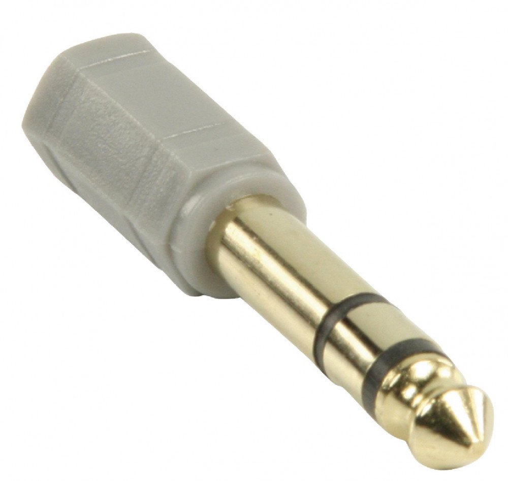 Bandridge Ljud adapter 3.5mm-6.35mm