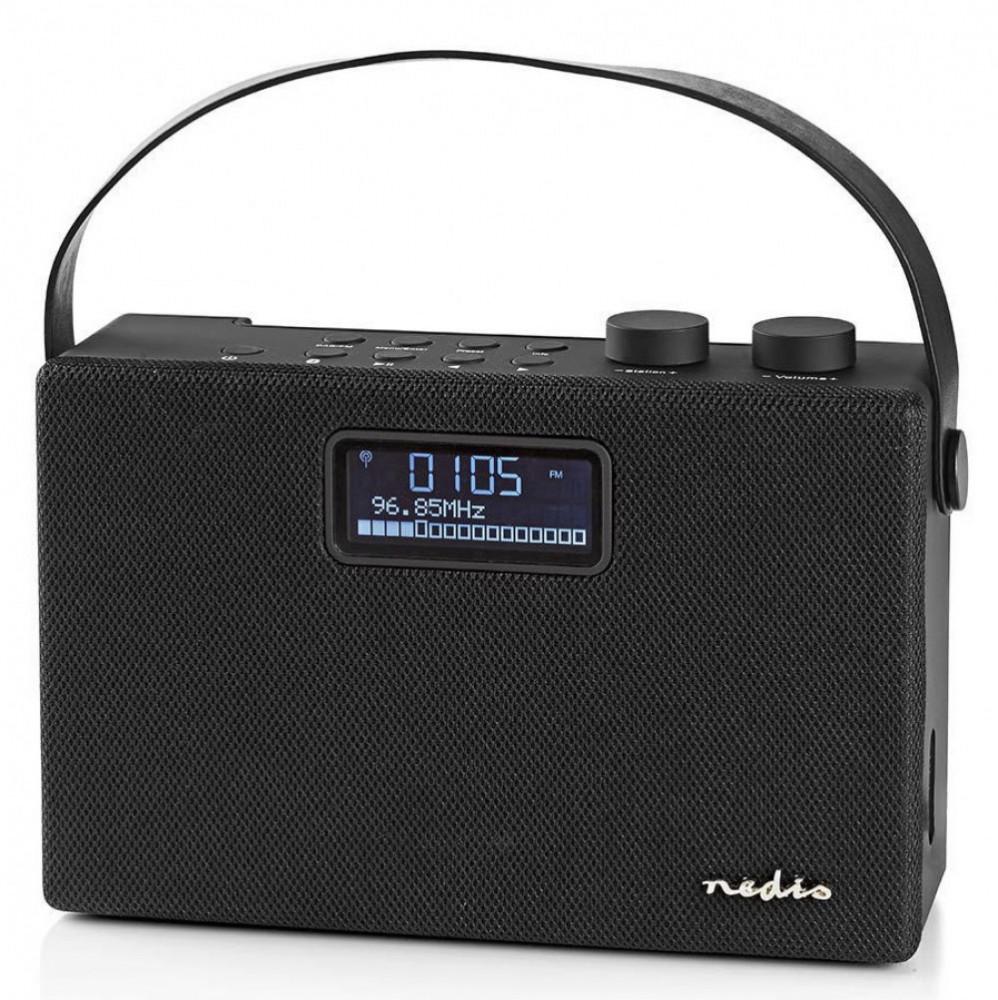 Nedis Bärbar Stereo Radio med Bluetooth RDD4320BN Svart