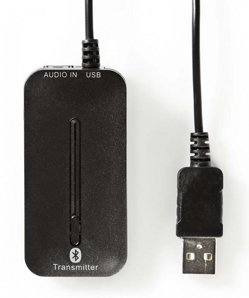 Nedis Bluetooth Ljudsändare Digital ingång BTTR200BK