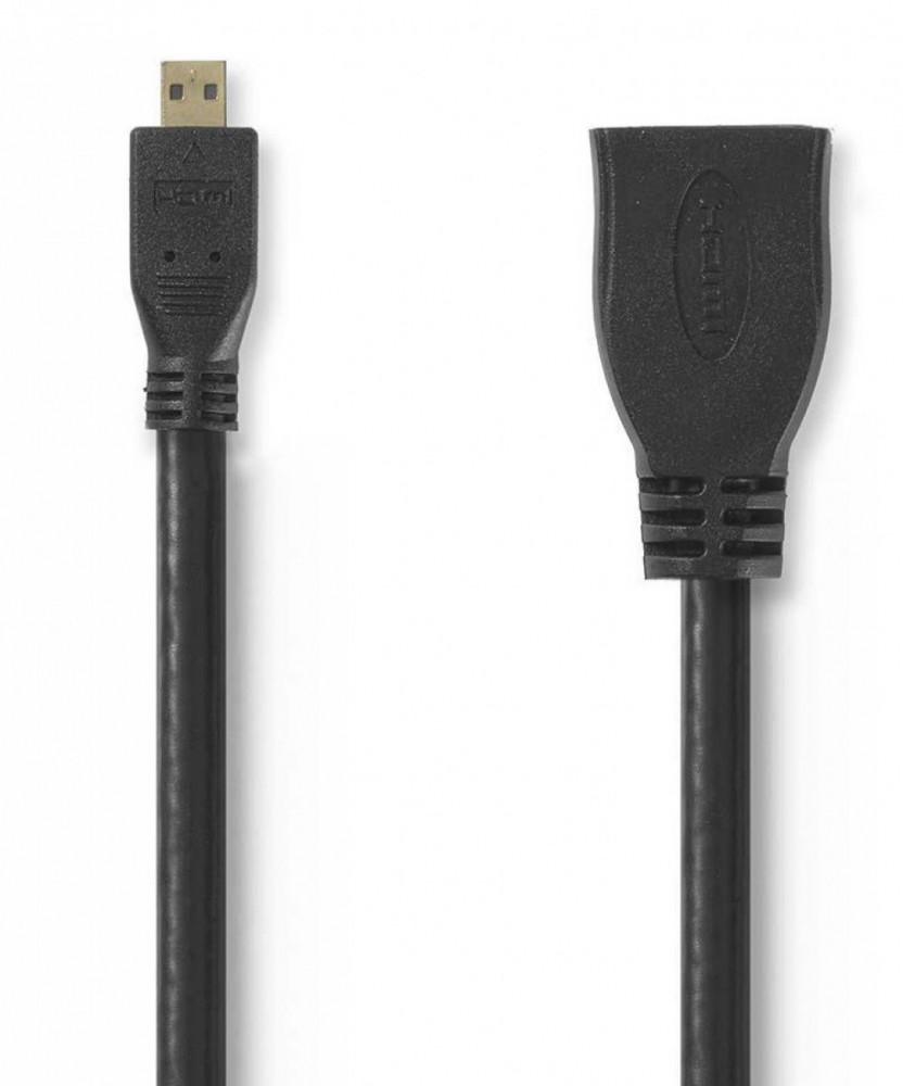 Nedis HDMI Adapter HDMI Micro-HDMI 0.2m
