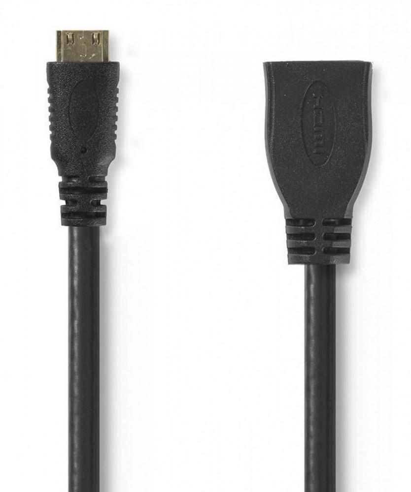 Nedis HDMI Adapter HDMI Mini - HDMI 0.2m