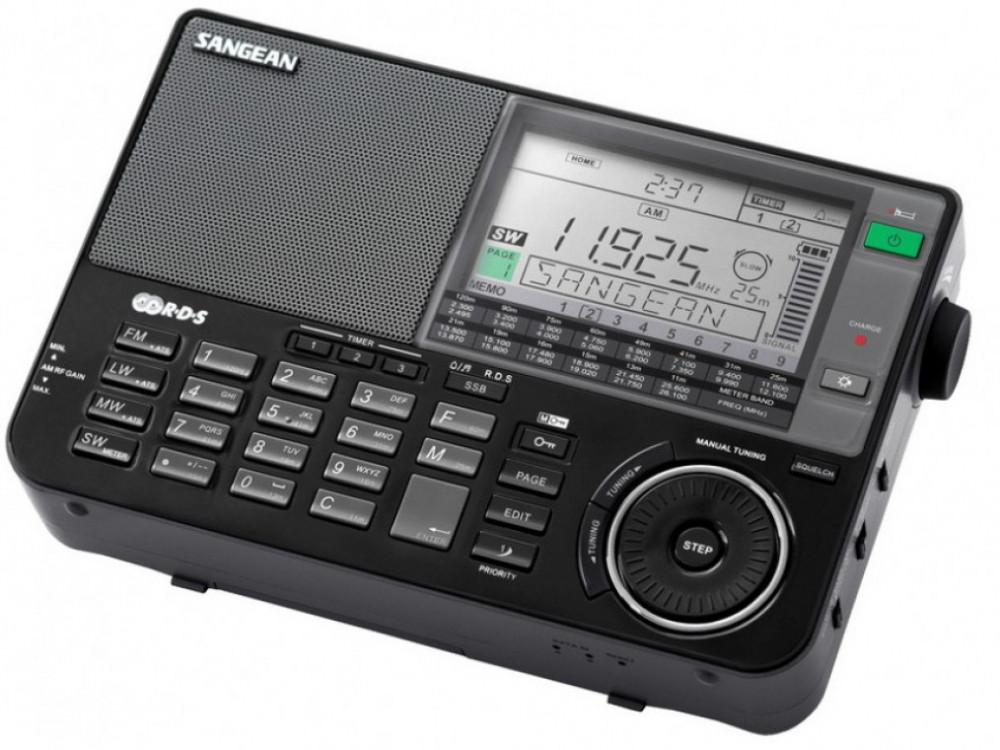 Sangean SANGEAN ATS-909X Svart