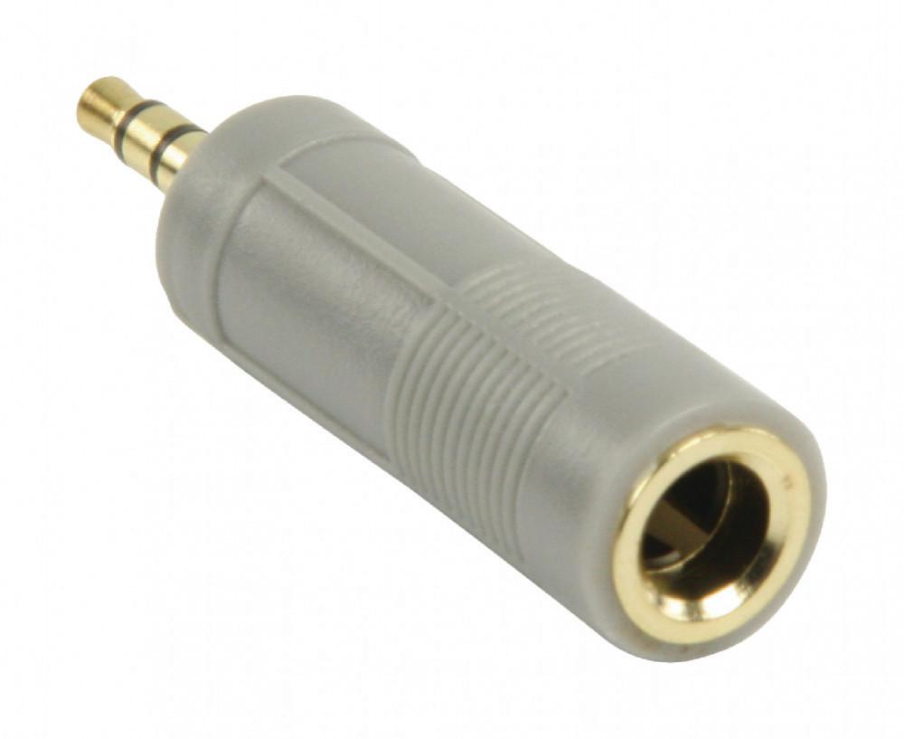 Bandridge Ljudadapter 6.35mm-3.5mm