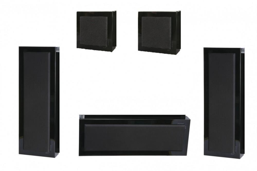 DLS Flatbox XL 5.0 Högtalarsystem Svart (Blank)