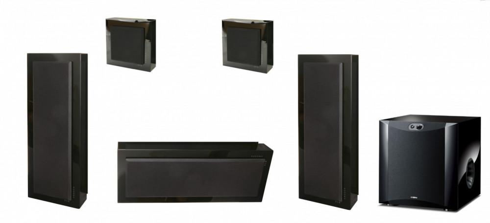 DLS 5.1 Flatbox Slim Large Högtalarsystem - 10