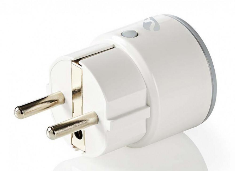 Nedis WiFi Smart Slim El-Plugg WiFiP110FWT