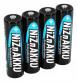 Ansmann Laddbara Hög AA Effekt Nickel-Zink 2500 mha Batterier 4-pack