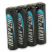 Ansmann Laddbara Hög Effekt AAA Nickel-Zink 900 mha Batteri 4-pack
