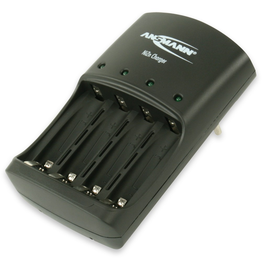 Ansmann Batteriladdare Nickel-Zink för 4st AA/AAA batterier