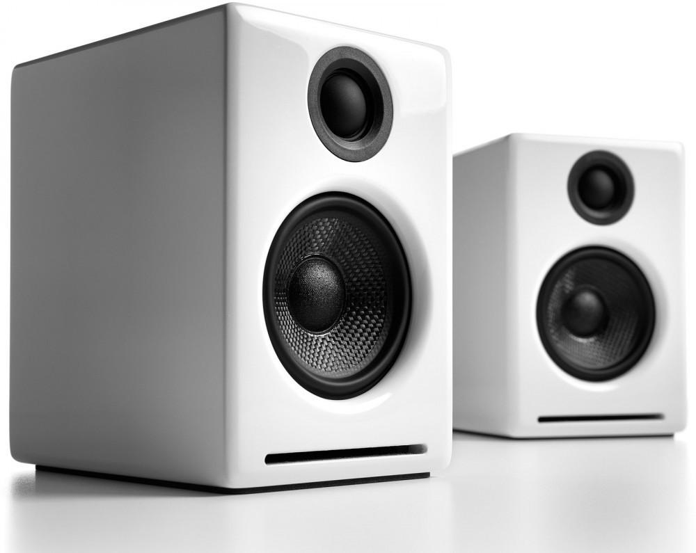 Audioengine A2+ Bluetooth Blank Vit