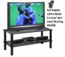 Övriga TV-Möbel Glas-Blackline 90cm med Hjul