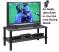 Övriga Övriga TV-Möbel Glas-Blackline 90cm med Hjul