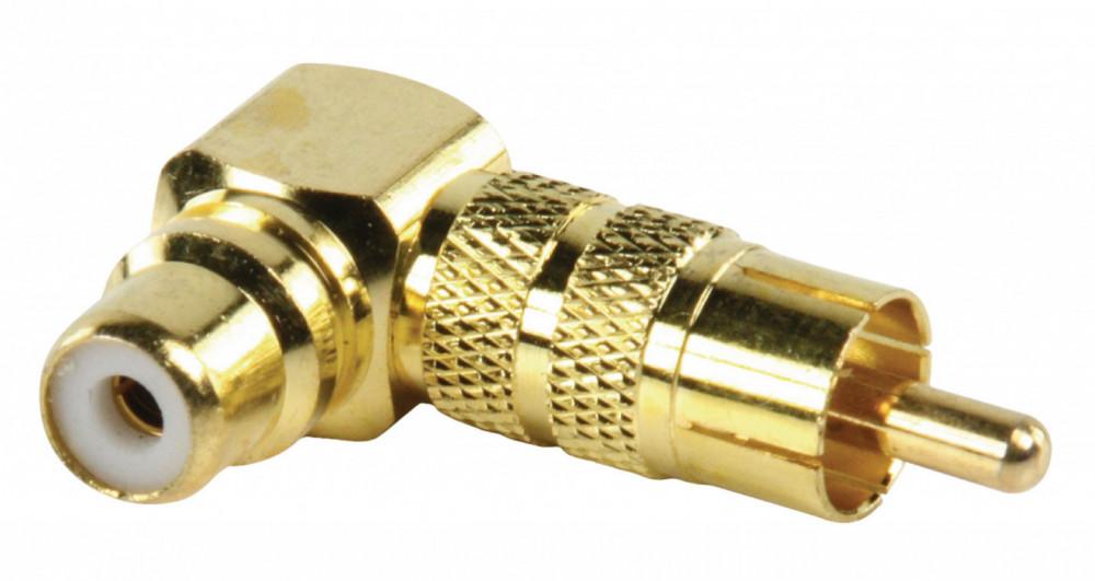 Nedis RCA Adapter 90 Graders Vinkel
