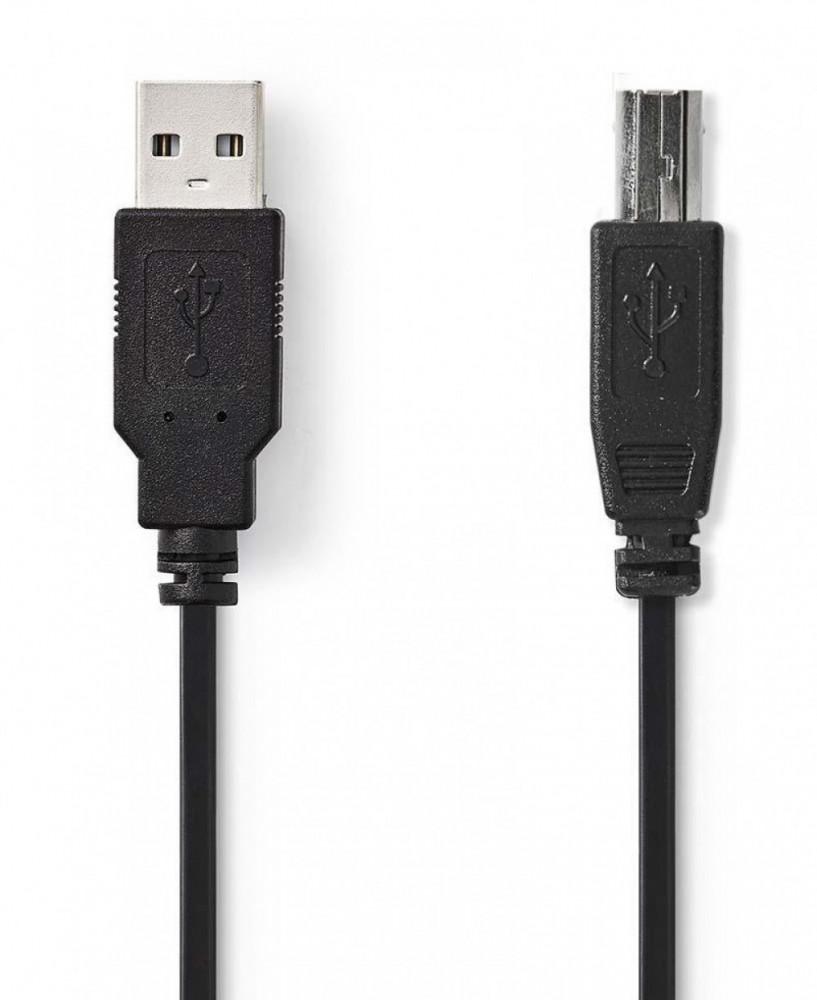 Nedis USB A till USB B Kabel 2m