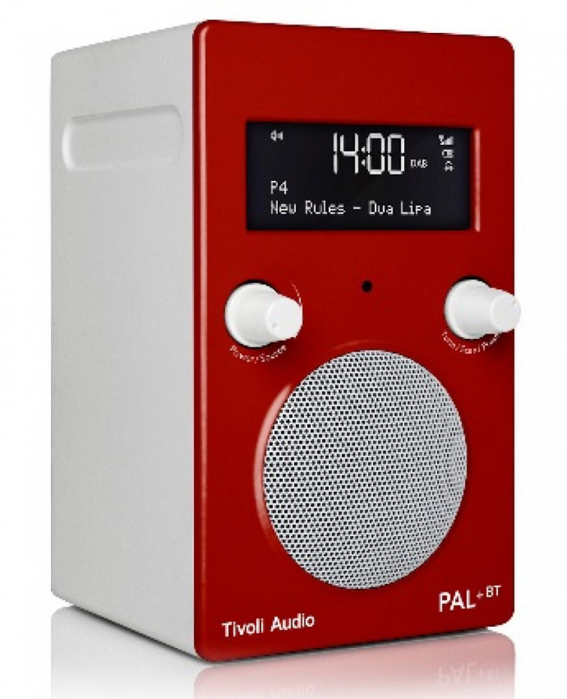 Tivoli Audio PAL + BT Blå / Vit
