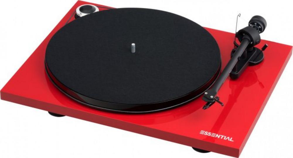 Pro-Ject Essential III Bluetooth Blank Röd
