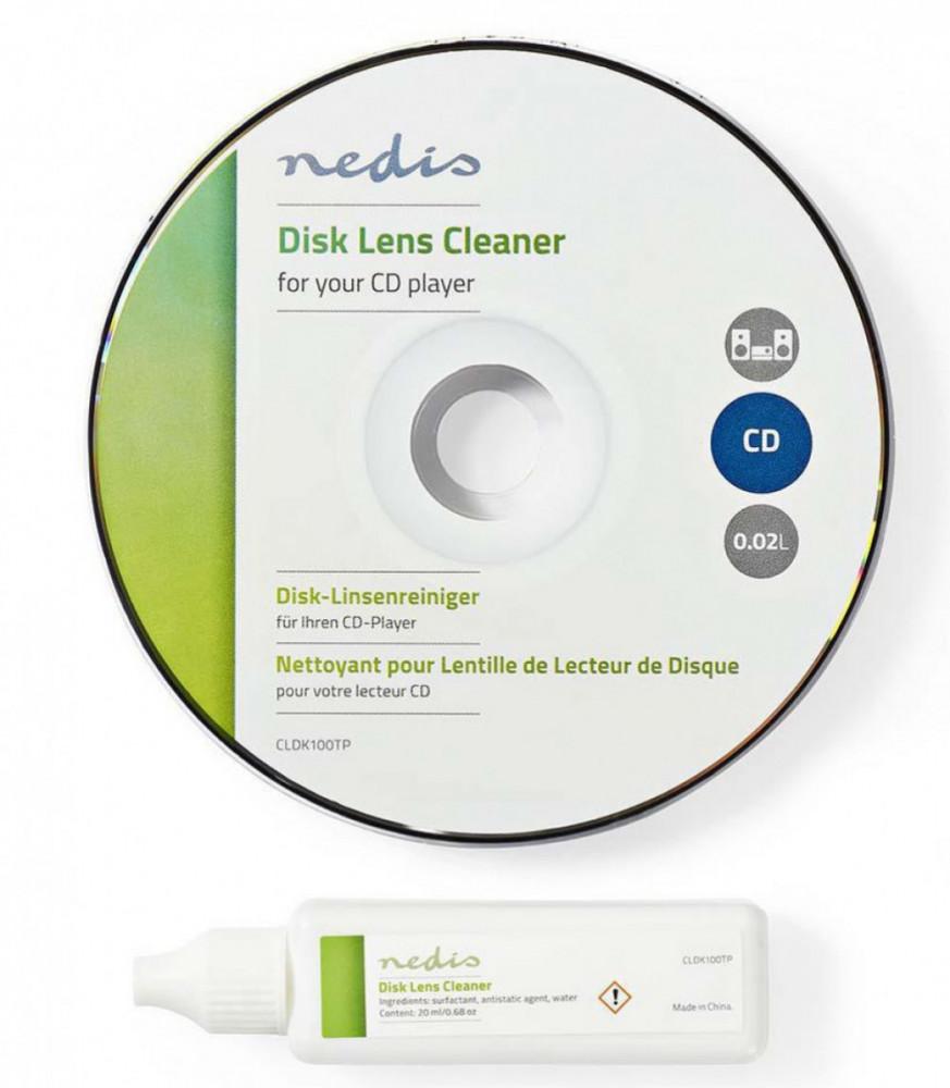 Nedis DVD / Blu-Ray spelar rengöring med vätska
