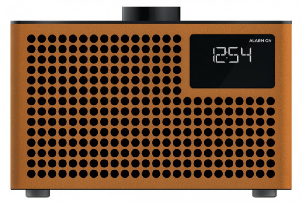 Geneva Acustica Lounge Radio med Bluetooth Cognac