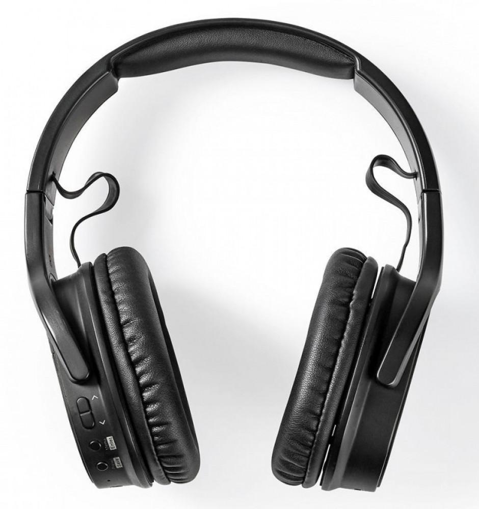 Nedis Bluetooth ver 5.0 Hörlurar inbyggd FM/DAB+ Radio