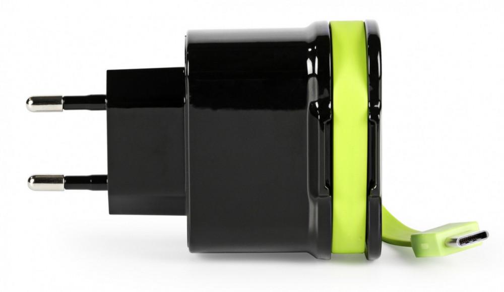 Sweex Universal USB 3 Amp Laddare USB-C +2st USB- A  CH-027