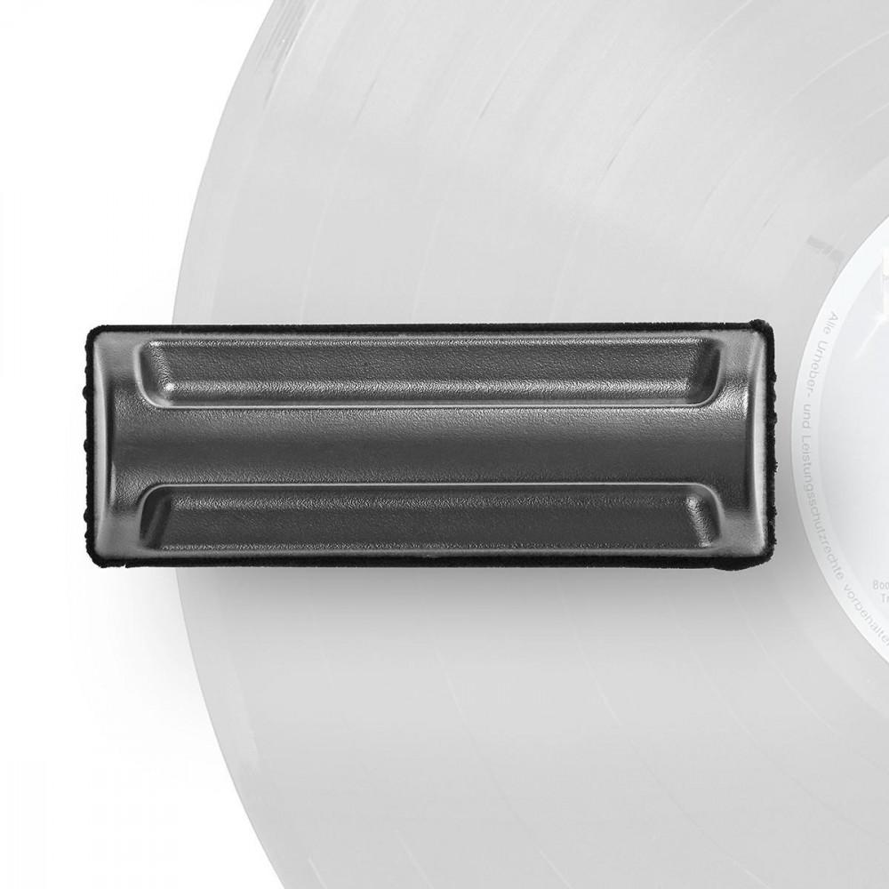 Nedis Vinyl Rengöringsborste mjuk microfiber CLTT01BK