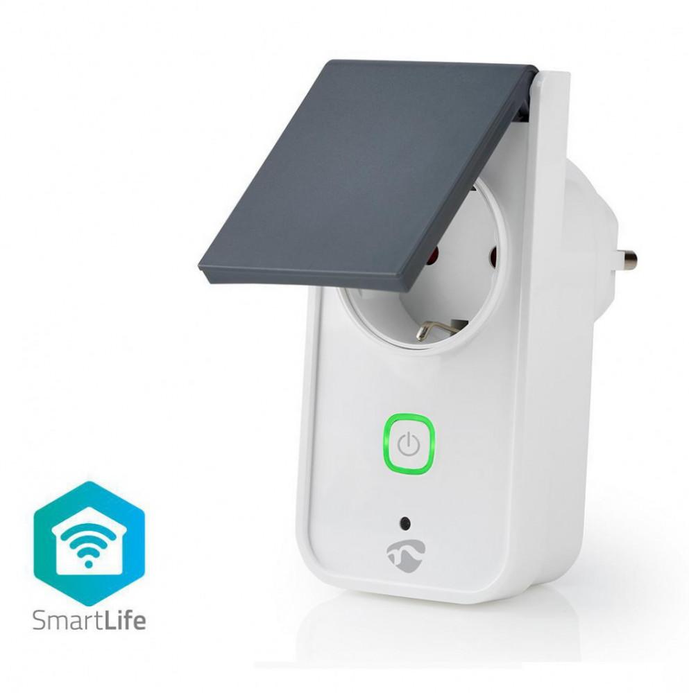Nedis WiFi Smart El-Uttag utomhus WiFiPO120FWT