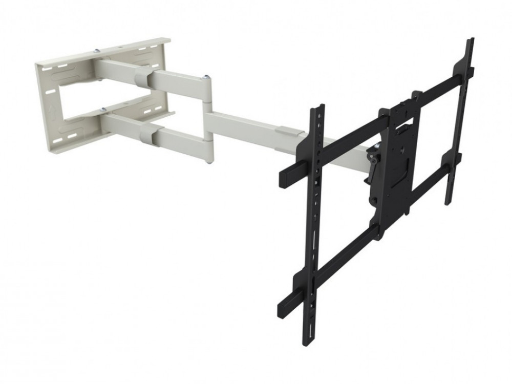 Multibrackets M Universal Lång Tv-Arm 101cm HD Singel Blank Vit