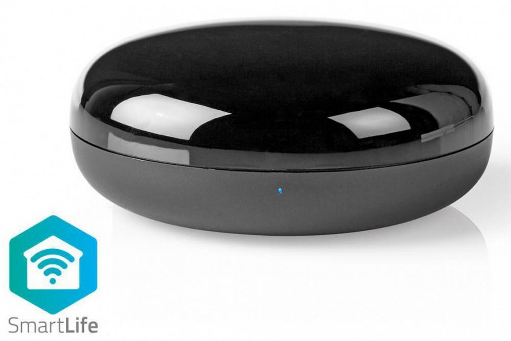 Nedis WiFi Smart-Hem Universal IR Fjärrkontroll WiFiRC10CBK