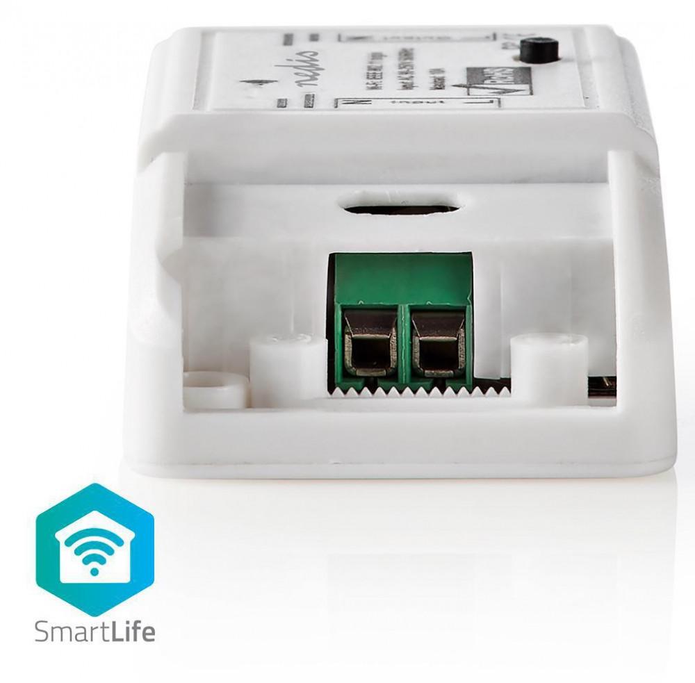 Nedis WiFi Smart-Hem In-line strömbrytare/Automatsäkring WIFIPS10WT