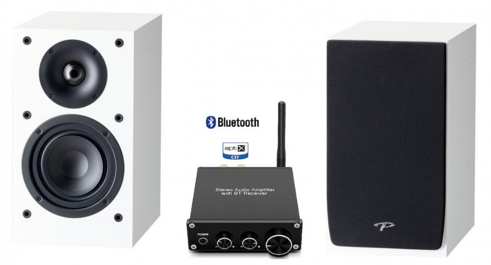 Paradigm Trådlös Bluetooth Monitor SE Atom - Kit Blank Vit