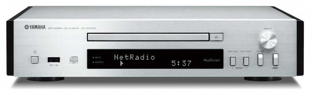 Yamaha CD-NT670D Silver (Titan)