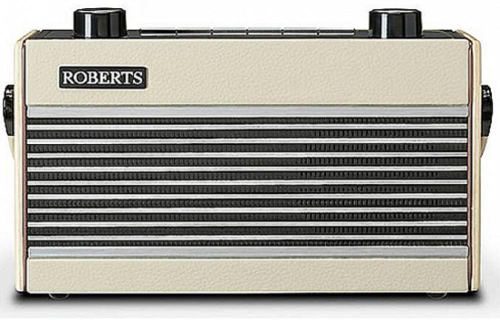 Roberts Radio Rambler BT (Bluetooth) Pastel Cream Vinyl