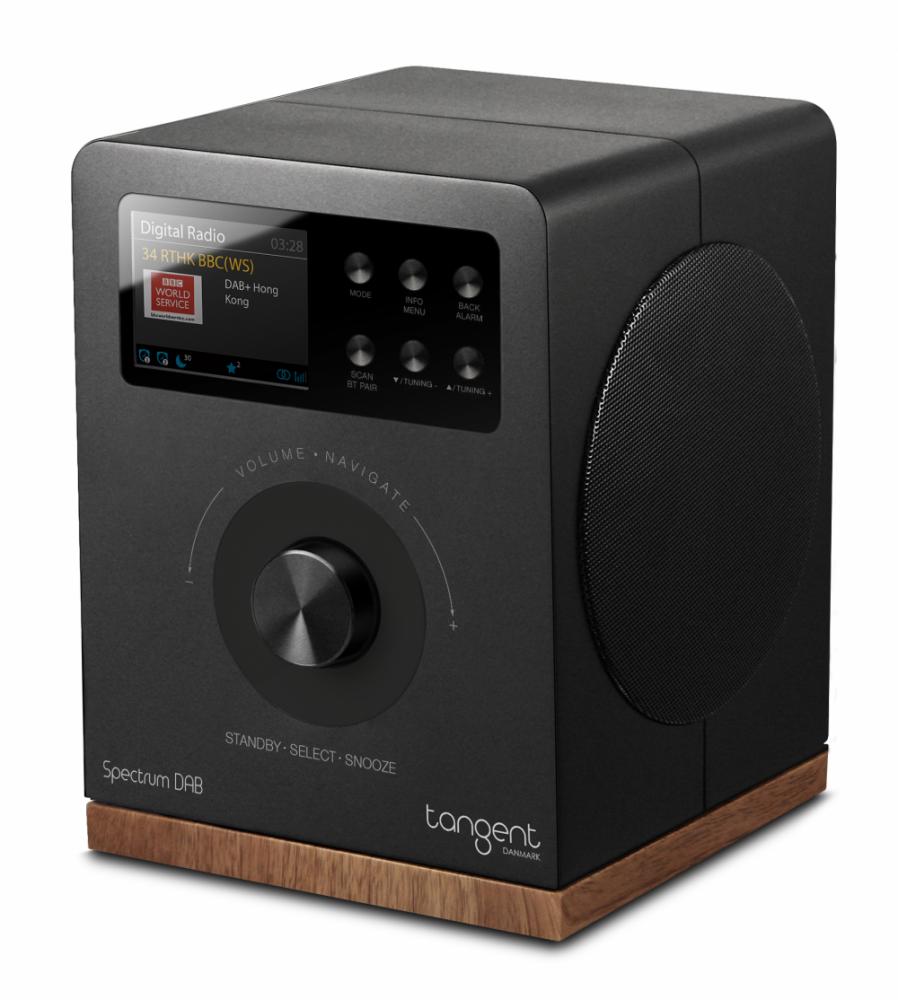 Tangent Spectrum Radio DAB+/FM Svart