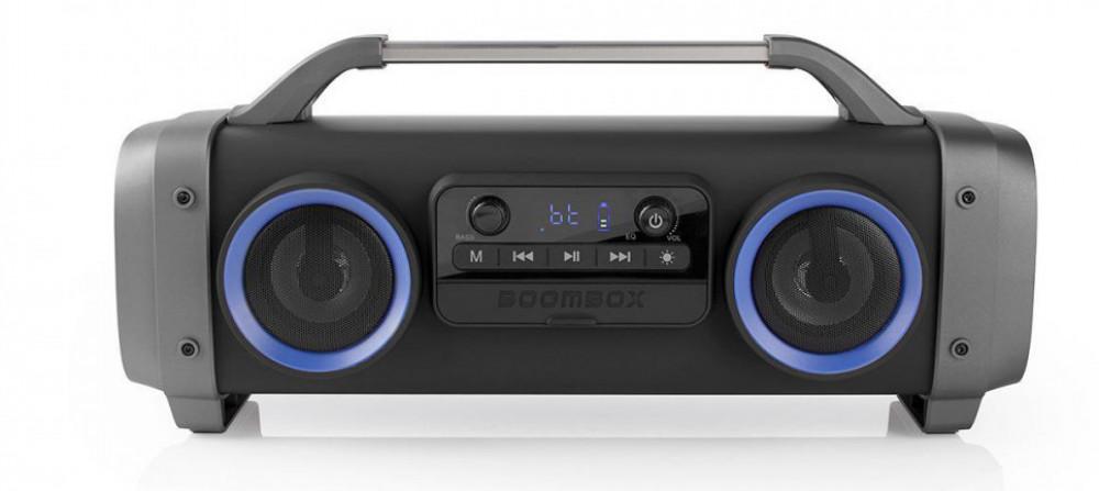 Nedis Party Boombox - bärbar laddbara bluetooth högtalare SPBB300BK