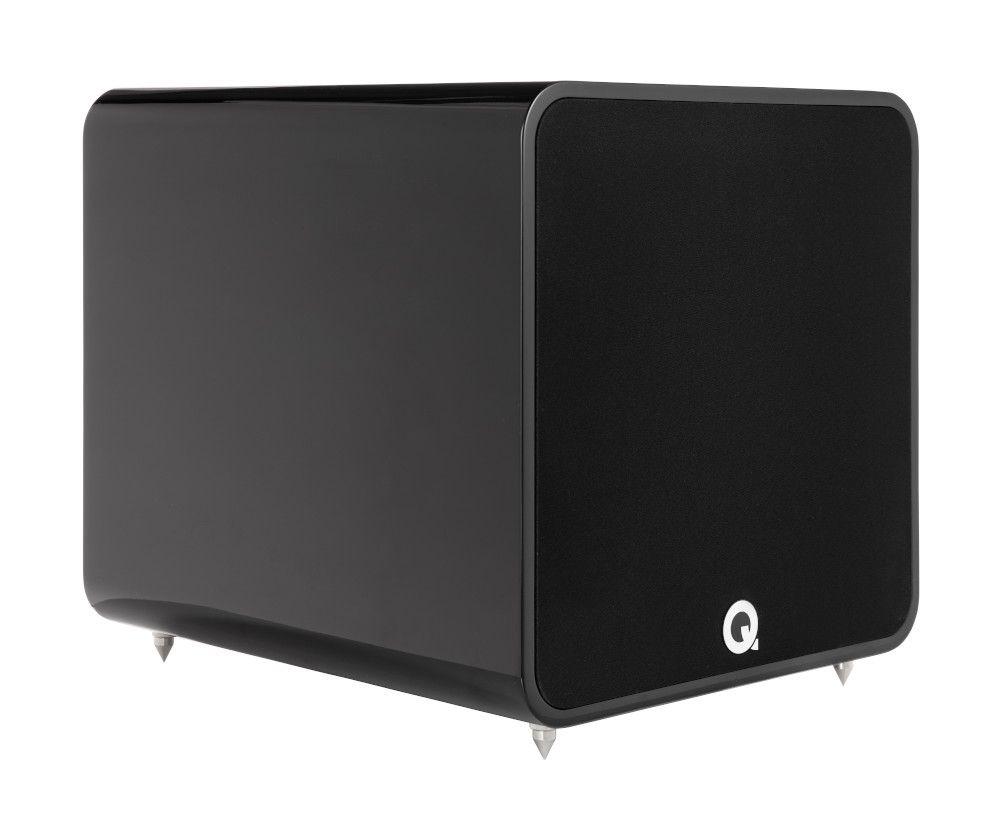 Q Acoustics Q B12 Subwoofer Blank Svart