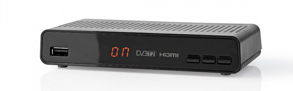 Nedis DVBT2265BK - HDTV-mottagare för tv-antenn
