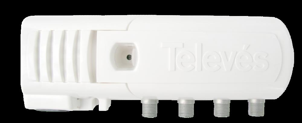 Televes 552220 TV Antennförstärkare 3 utgångar
