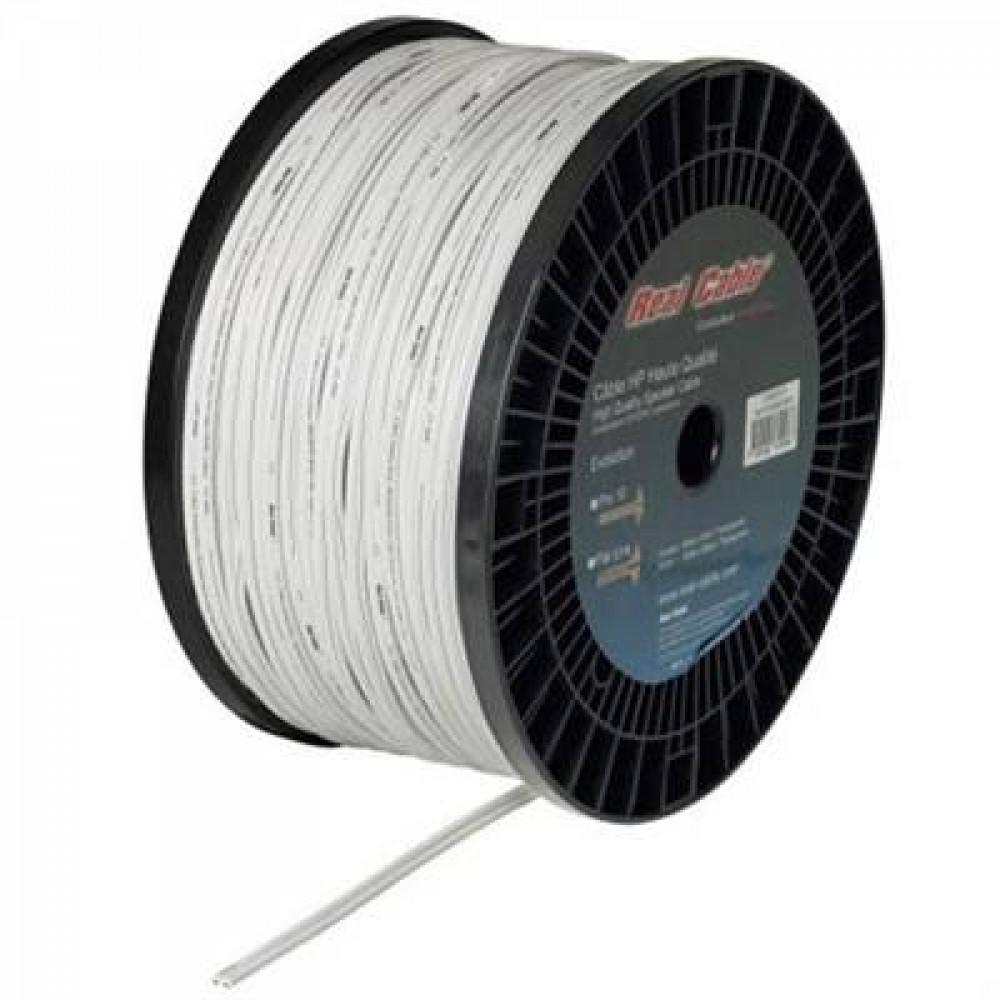 Real Cable Pro 10 vit 2.0mm Högtalarkabel